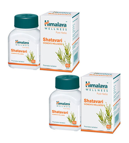 Himalaya Shatavari 60 Tablets - Pack Of 2