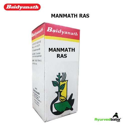 Baidyanath Manmath Ras - 10Gm. (40 Tablets)