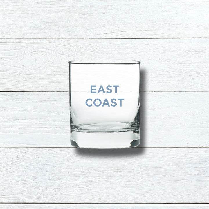 EAST COAST ROCKS GLASS - BLUE