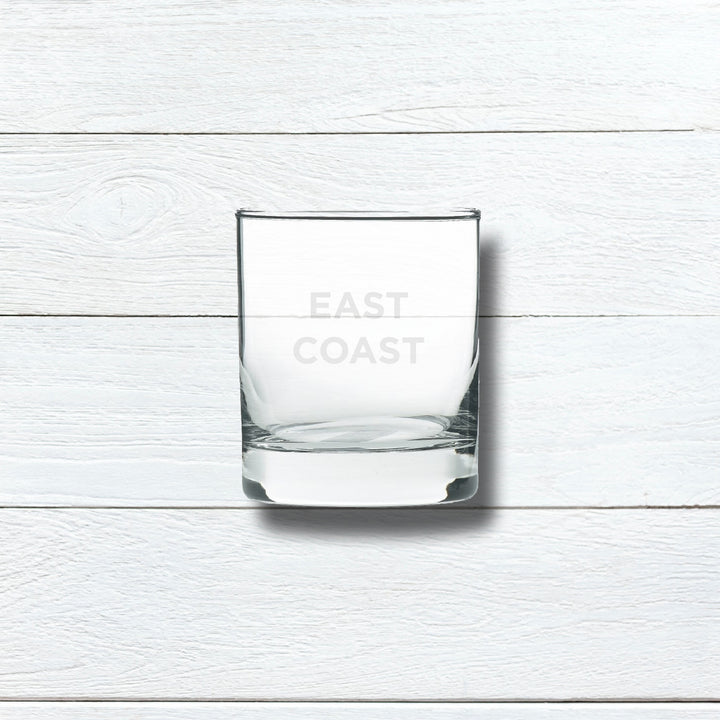 EAST COAST ROCKS GLASS - WHITE