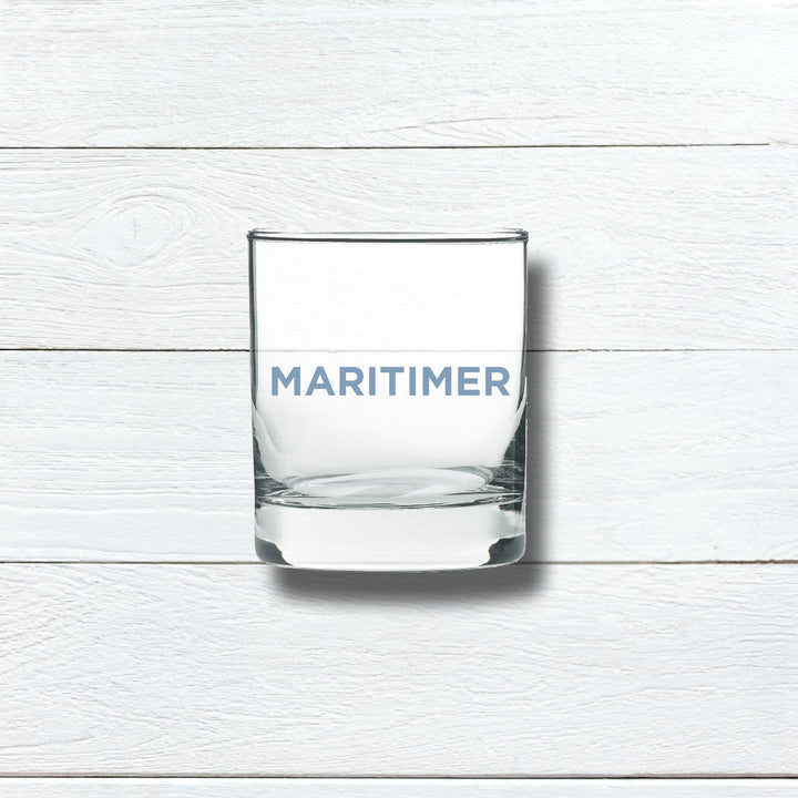 MARITIMER ROCKS GLASS - BLUE