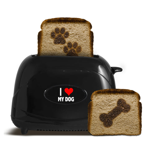 """I Heart My Dog"" Pet Toast"