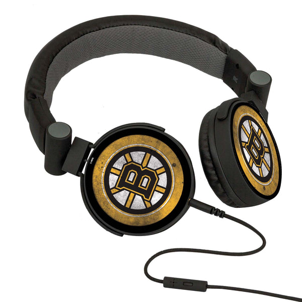 Boston Bruins® DJ Headphones- Washed Collection