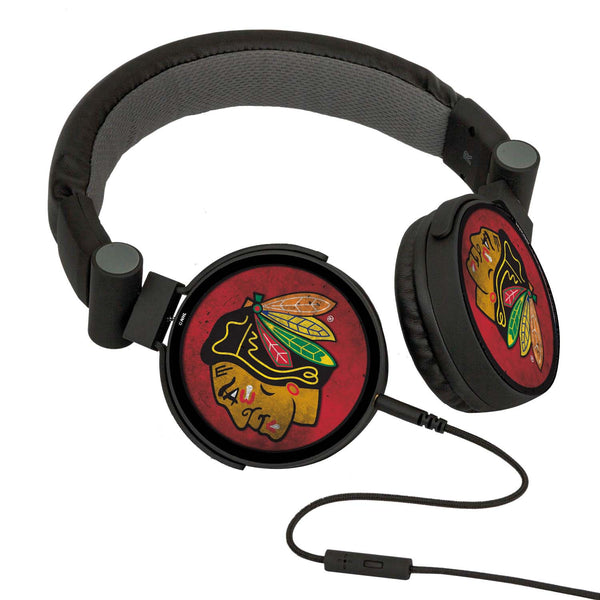 Chicago Blackhawks® DJ Headphones- Washed Collection