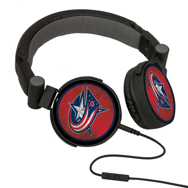 Columbus Blue Jackets® DJ Headphones- Washed Collection