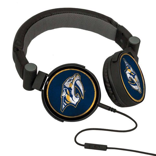 Nashville Predators® DJ Headphones- Washed Collection