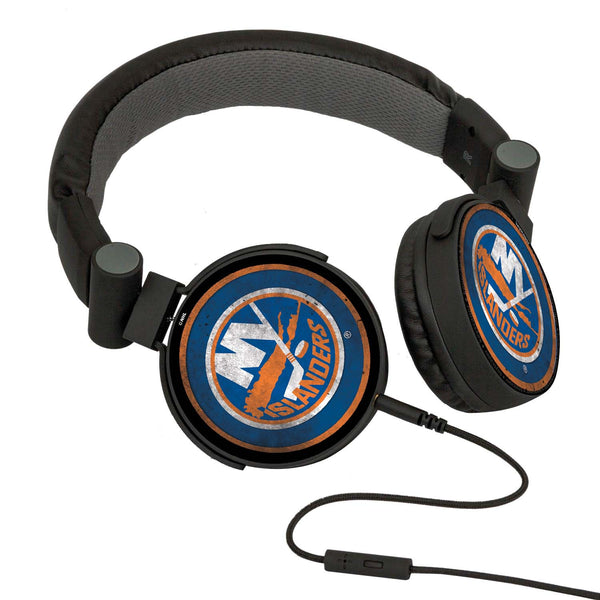 New York Islanders® DJ Headphones- Washed Collection