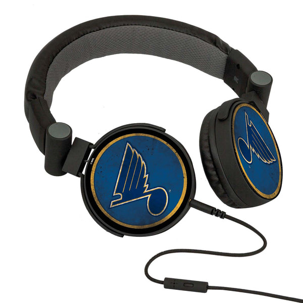 St. Louis Blues® DJ Headphones- Washed Collection