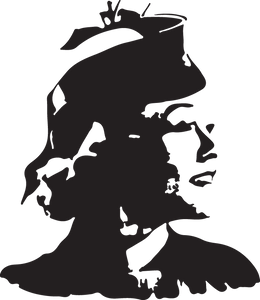 160RA - Woman with hat