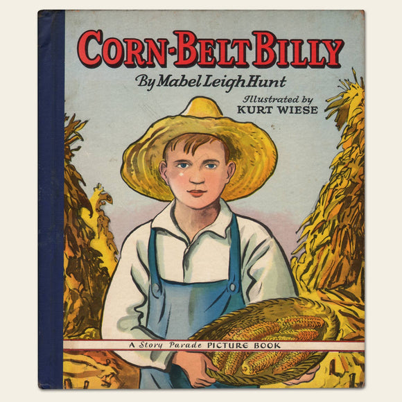 1942 Corn-Belt Billy Children's Book