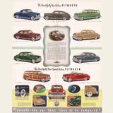 1950 Plymouth Dealer Brochure