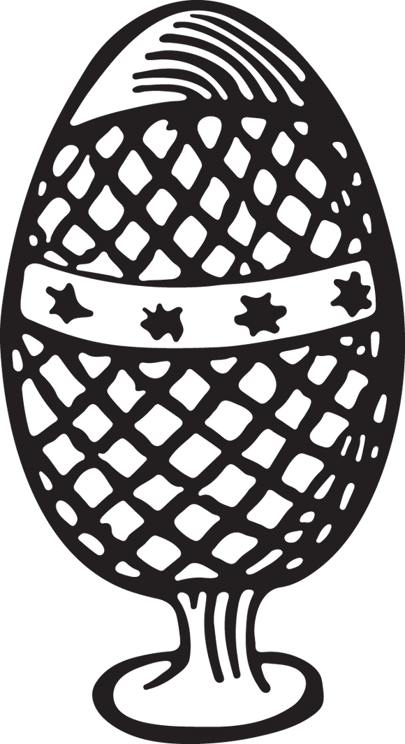 198RA - Decorated egg