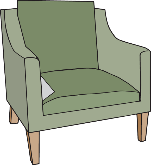 330RA - Mid-Century chair