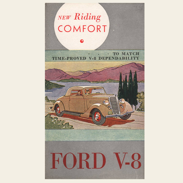 1935 Ford V-8  Sales Brochure