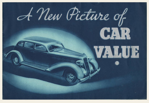 1935 Plymouth Bluetone Sales Brochure