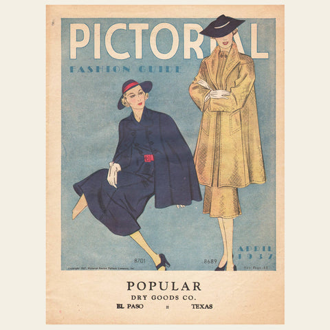 1937 Fashion Pattern Brochure