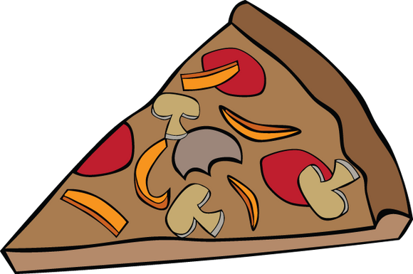 447RA - Pizza slice