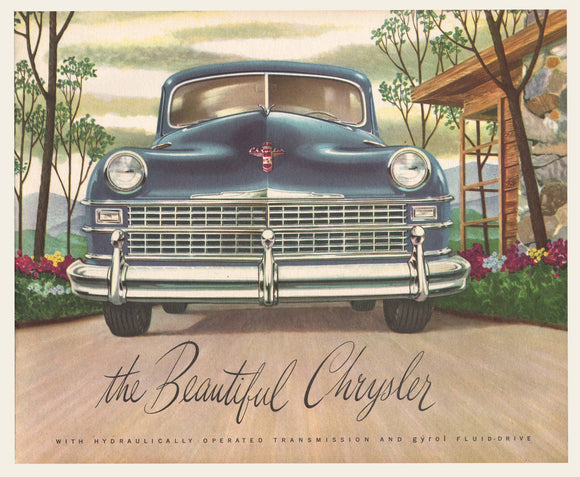 1947 - 1948 Chrysler Sales Brochure