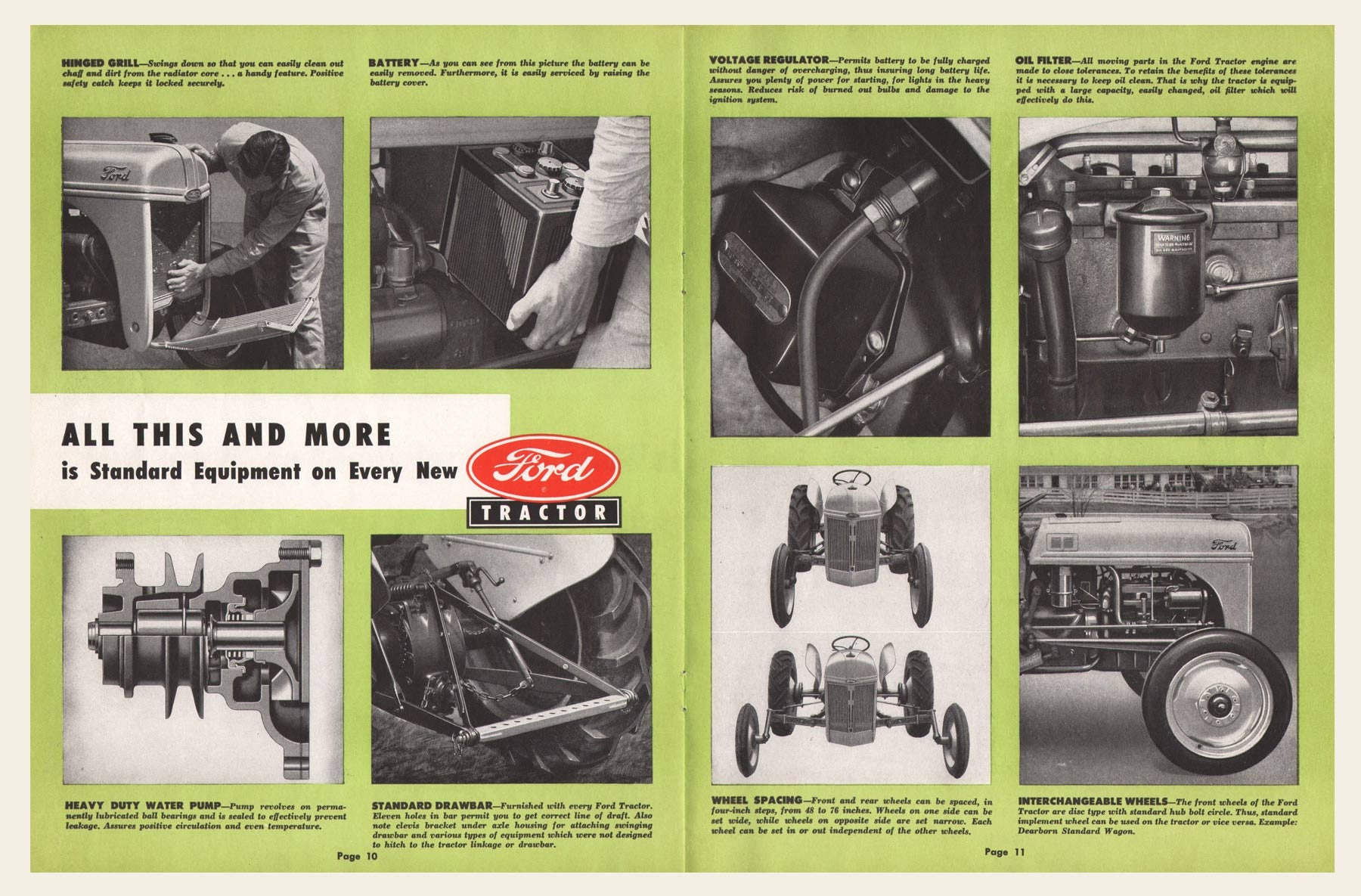 1948 Ford Dearborn Tractor Sales Brochure – OldCuts