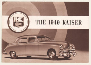 1949 Kaiser Special and DeLuxe Brochure
