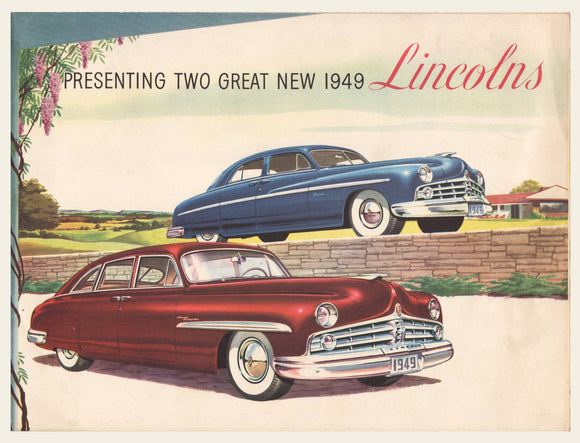 1949 Lincoln Sales Brochure