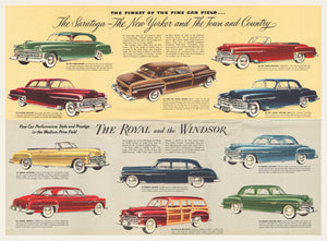 1950 Chrysler Sales Brochure