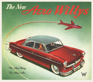 1952 Willys Aero Dealer Brochure