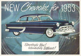1953 Chevrolet Sales Brochure