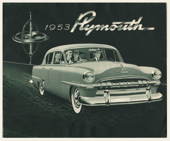 1953 Plymouth Brochure Cranbrook Cambridge Club +