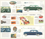 1954 Plymouth Belvedere, Savoy, Plaza Brochure