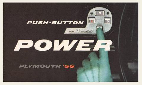 1956 Plymouth PowerFlite Transmission Brochure