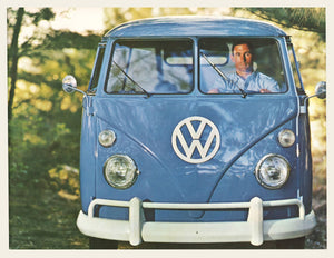 1961 Volkswagen Type 2 (Bus) Brochure