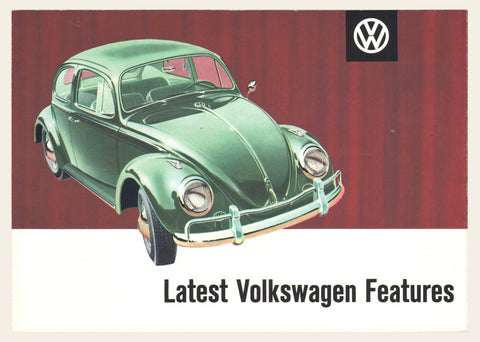 1961 Volkswagen Beetle Features Brochure