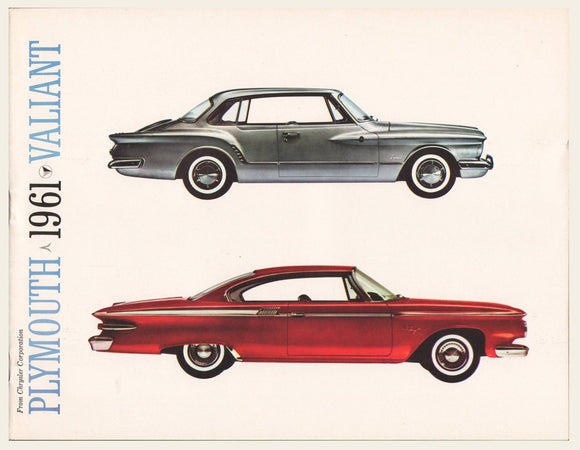 1961 Plymouth Valiant Dealer Brochure