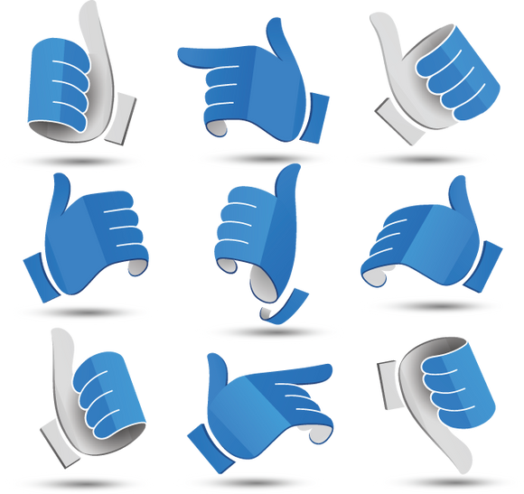 640 graphic hand icons