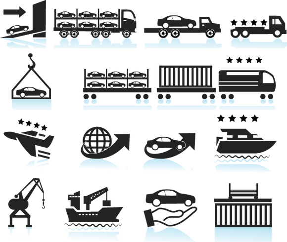 641 transportation icons