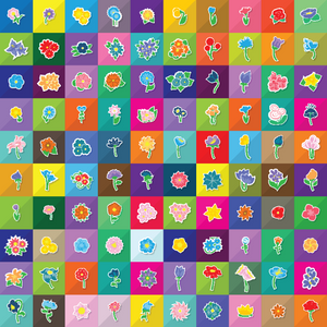 649 flower icons