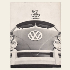 1964 Volkswagen Bus/Trucks Commercial Brochure