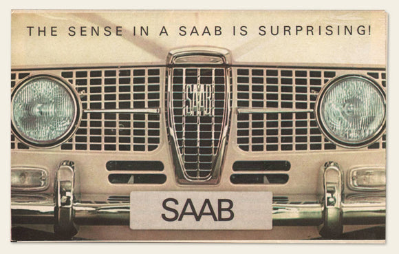 1964 SAAB Dealer Brochure