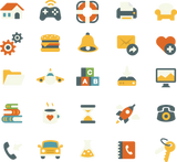 650 misc. icons