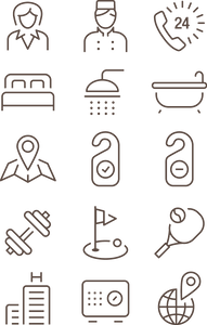 662 Hotel Icons