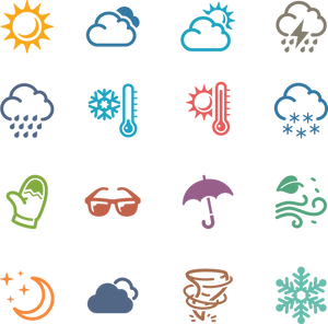 664 Weather Icons