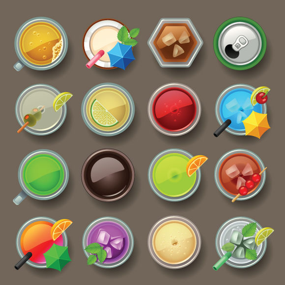 668 Drink Icons