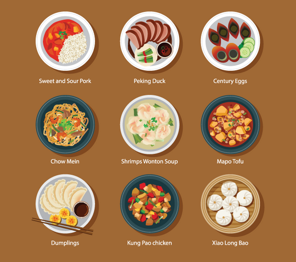 669 Plated Food Icons