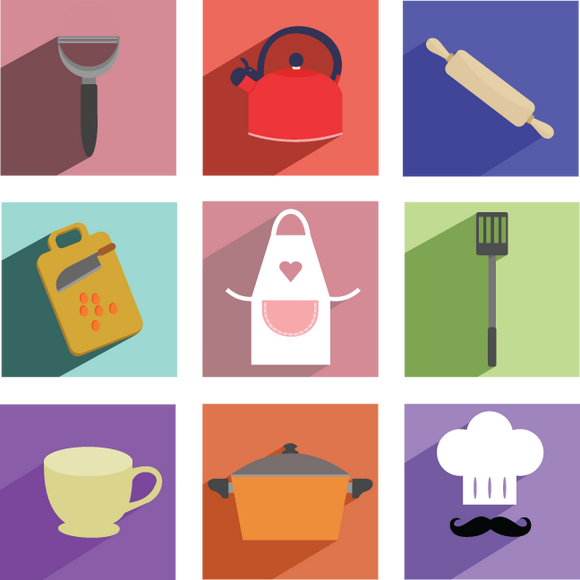 678 Cooking Icons