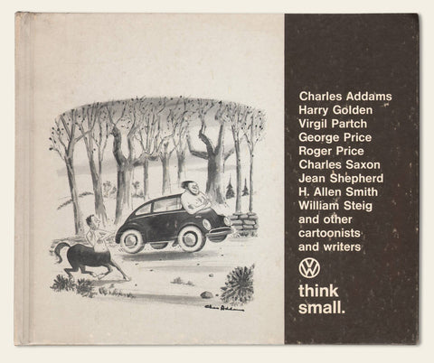 "1967 Volkswagen ""Think Small"" Joke Book"