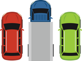687 graphic icons of cars and truck