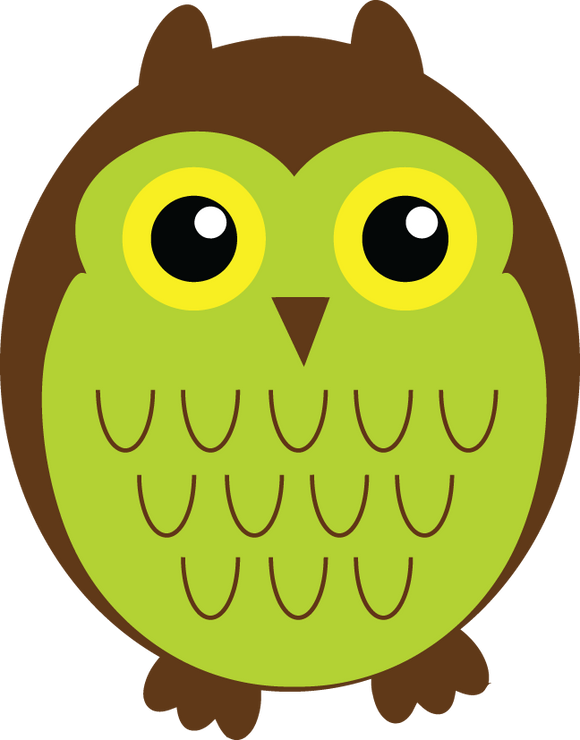 693 Cartoon Owls