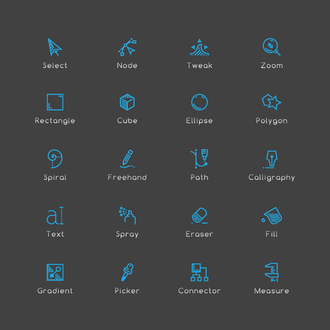 712 Computer Aided Design / Illustration Icons