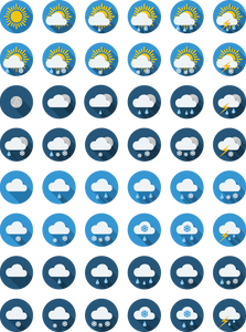 723 weather icons